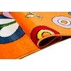 Home & Haus Teppich Violet in Orange