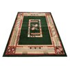 Home & Haus Halite Green Area Rug