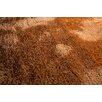 Home & Haus Teppich Mikrofibra in Braun/Orange