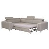 Home & Haus 3-tlg. Ecksofa Annaghs mit Bettfunktion