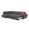 Home & Haus 2-tlg. Ecksofa Spanish mit Bettfunktion