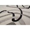 Home & Haus Amatrix White Area Rug