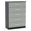 Home & Haus Lincoln 5 Drawer Chest of Drawers