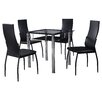 Home & Haus Charlie Dining Table and 4 Chairs