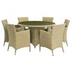 Home & Haus Lianne 6 Seater Dining Set with Cushions