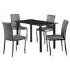 Home & Haus Bentley Dining Table and 4 Chairs