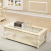 Coady Coffee Table with Magazine Rack