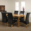 Home & Haus Arrakis Dining Table and 6 Chairs