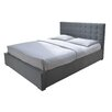 Home & Haus Santa Cruz Upholstered Bed Frame