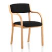 Home & Haus Seville Mid-Back Visitor Chair with Arms