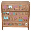Home & Haus Chest of drawers with 4 drawers