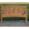 Home & Haus Oklahoma 2 Seater Teak Garden Bench
