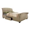 Home & Haus Sabik Upholstered Storage Sleigh Bed