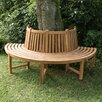 Home & Haus Kapuas Teak Semi-Circular Tree Bench