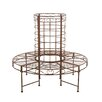Home & Haus Keitele Iron Round Tree Bench