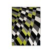 Home & Haus Amatrix Black Area Rug