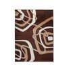 Home & Haus Amatrix Brown Area Rug