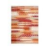 Home & Haus Teppich Leggo in Terrakotta
