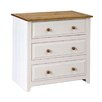 Home & Haus Tehama 3 Drawer Chest of Drawers
