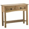 Home & Haus Traditional Corona Console Table