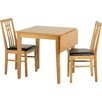 Home & Haus Extendable Dining Table and 2 Chairs