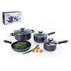Alpine Cuisine 7 Piece Non-Stick Cookware Set