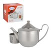 Alpine Cuisine .88-qt. Satinless Steel Teapot with Filter
