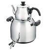 Alpine Cuisine Satinless Steel Double Steamer Kettle
