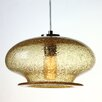Viz Glass Vintage 1 Light Pendant