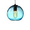 Viz Glass Vintage 1 Light Globe Pendant