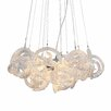 Viz Glass Infinity 5 Light Chandelier