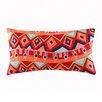 Josie by Natori Hollywood Boho Cotton Lumbar Pillow
