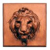 Hickory Manor House Lion Face Plaque Wall Décor