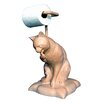 Hickory Manor House Free Standing Cat Licking Paw Freestanding Toilet Paper Holder