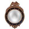 Hickory Manor House Regency Eagle Convex Mirror