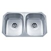 """Wells Sinkware Speciality Series 29.13"""" x 18.13"""" Equal Double Kitchen Sink"""