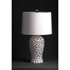 "D'Fine Lighting Mod 24"" H Table Lamp with Drum Shade"