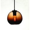 D'Fine Lighting Vintage 1 Light Globe Pendant