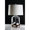 """D'Fine Lighting Mod 26"""" H Table Lamp with Drum Shade"""