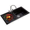 Reginox 61.5cm x 49cm Kitchen Sink with Taps