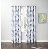 No. 918 Millennial Joseph Grommet Crushed Single Curtain Panel