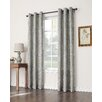No. 918 Millennial Riya Grommet Woven Print Single Curtain Panel