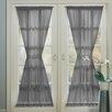 No. 918 Millennial Sheer Voile Door Single Curtain Panel