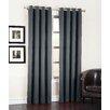 Sun Zero Groton Room Darkening Grommet Single Curtain Panel