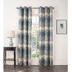 Sun Zero Timothy Grommet Single Curtain Panel