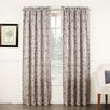 Sun Zero Bailey Medallion Print Rod Pocket Single Curtain Panel