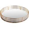 Allure by Jay Circle Copper Tray