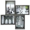 nexxt Design Bricks Block 4-Opening Picture Frame
