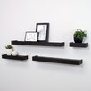 nexxt Design Vertigo 4 Piece Floating Wall Shelf Set