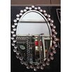 Crown Home Décor Modern Oval Wall Mirror